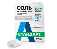 Противогололедный материал «А Стандарт Соль техническая» (1000 кг)