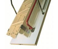 Деревянная чердачная лестница Факро LDK, размер 70x120x280 70x120x280 см.