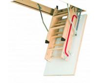 Деревянная чердачная лестница Факро LWK Plus, размер 70x120x280 70x120x280 см.