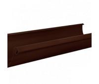 Желоб водосточный «Аквасистем» 100x150 цвет коричневый RAL 8017