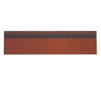 Карнизно-коньковая плитка Красный