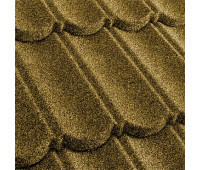 Черепица композитная MetroBond цвет Желтый
