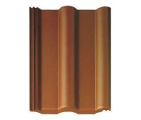 Черепица Браас Франкфуртская коричневая