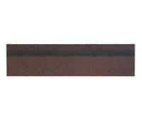 Карнизно-коньковая плитка Коричневый