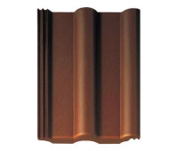 Черепица Браас Франкфуртская темно-коричневая
