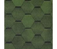 Битумная черепица Тегола Top Shingle Смальто Зеленый