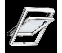 Мансардное окно GLP 0073BIS - пластиковое, ручка снизу FR04